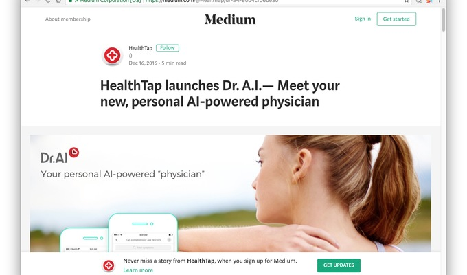 探码WEB大数据采集系统与全美最大的医疗O2O平台合作搭建全球健康诊疗平台